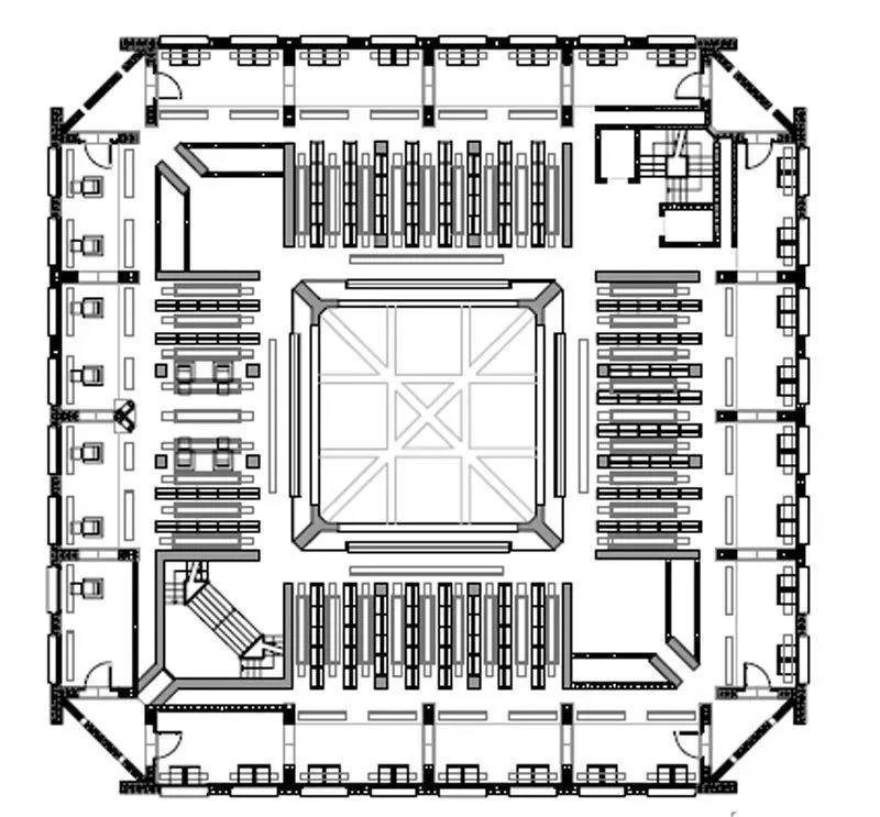 【资讯】路易斯康50年前设计了「神之图书馆」,完美秒杀一切网红书店图片
