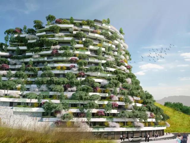博埃里建筑事务所项目—垂直森林 ----- 北京国际设计周展览推荐