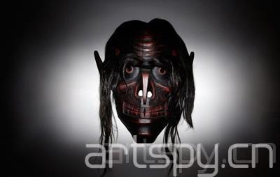 "k) 的雕塑""乌鸦变面具"" ""Raven Transformation Mask""-17届悉"