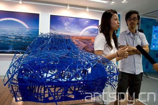 艺术北京x蓝·创未来——大众汽车公共艺术展