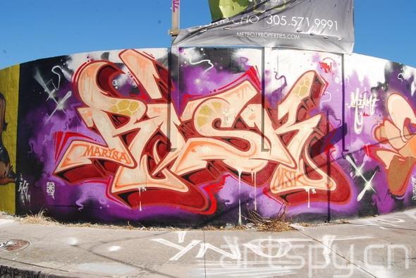 迈阿密艺术博览会:街头涂鸦