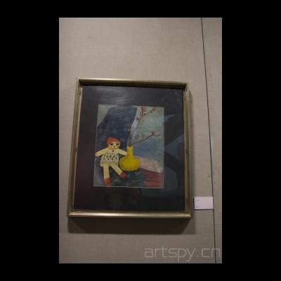 邱堤 布娃娃 1939年 上海美术馆藏