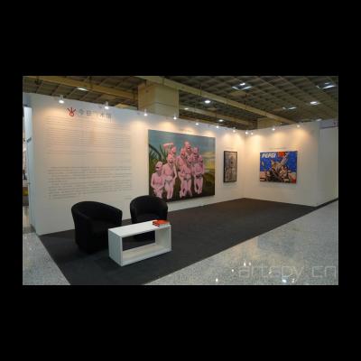 今日美术馆馆藏作品展位在马来西亚艺术博览会显要位置呈现