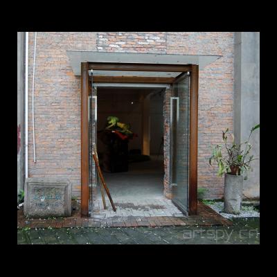 二号展厅门口
