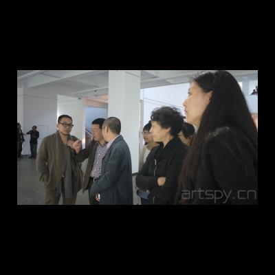 批评家夏可君与艺术家张浩交流