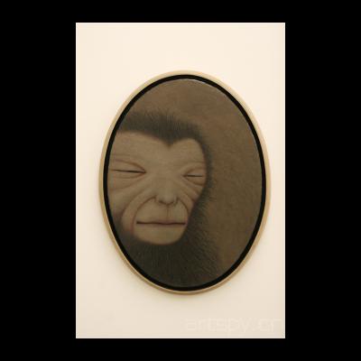 猴照镜之二,2012
