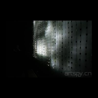 吉姆·坎贝尔 《由1040个发光二级管构成的家庭电影》(作品第3号)