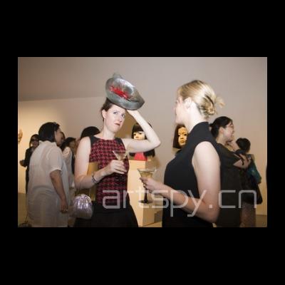 展览现场 漂亮的帽子