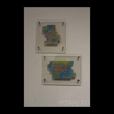段建宇 巴黎地图 纽约地图
