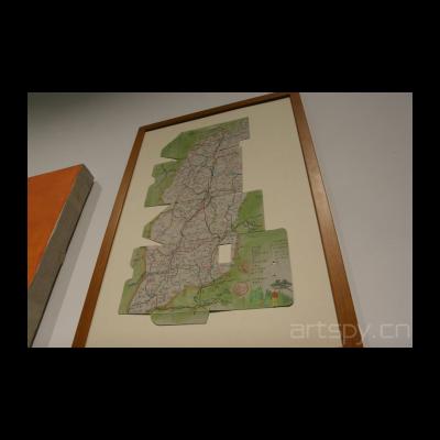 段建宇 山西地图(上)美丽的梦8(下)