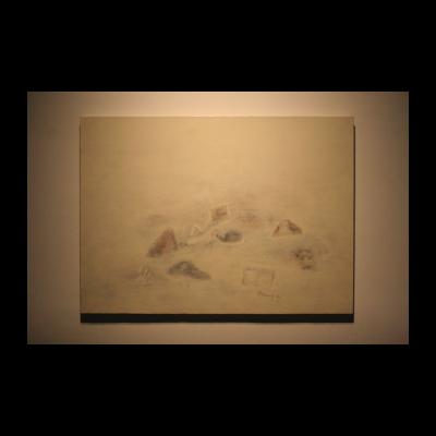 尚扬,日记06.01,布面油彩,93*128cm,2006