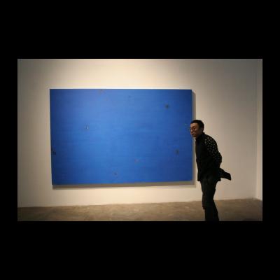 谭平,无题,布面丙烯,200*300cm,2008