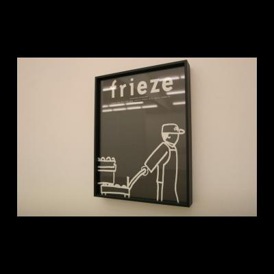 周铁海,假封面-《Frieze》,1995