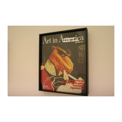 周铁海,假封面-《美国艺术》,1997