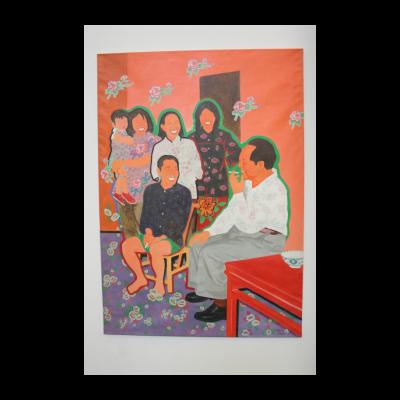 余友涵,《与湖南农民聊天》,1990