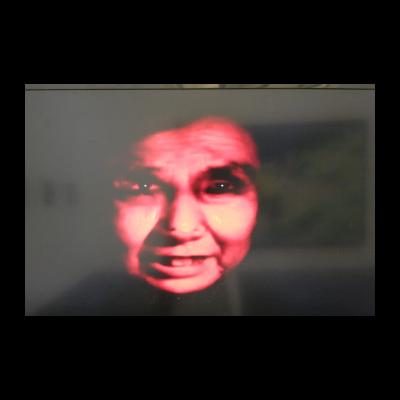 李永斌,《脸1》,1996