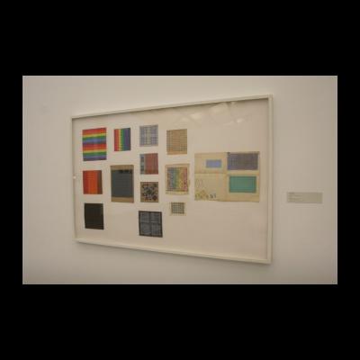 丁乙,《草图13件》,1987-1989
