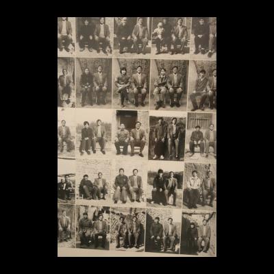 庄辉,《一个和三十个:农民》,1995-1996