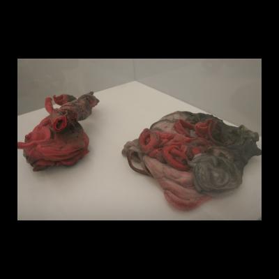 顾德新,《无题(塑胶雕塑)2》,1983-1984