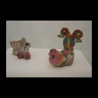 顾德新,《无题(粘土雕塑)》,1982-1983