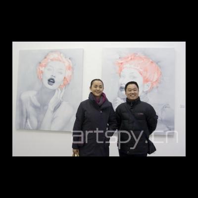 左一 艺术家 刘虹
