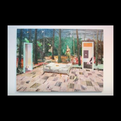 徐大卫,重合的风景No.4.床,2014