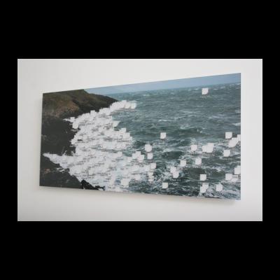 名称:数据泡沫板/年代:2013 /材质:收藏级打印/尺寸:120 × 57.56cm /版本:6+