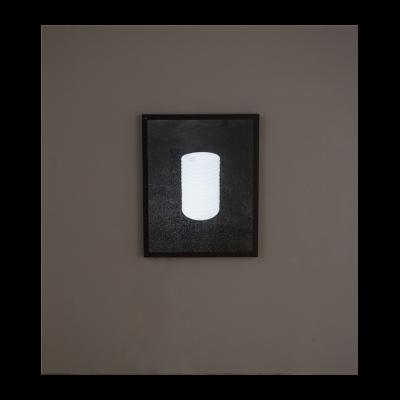 吴鼎,《由无限可能性组成的圆柱形山体》,摄影,艺术微喷,100×80cm,2014