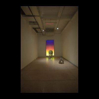关小《日落》,尺寸可变,2012