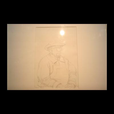 朝戈,素描人物,2012
