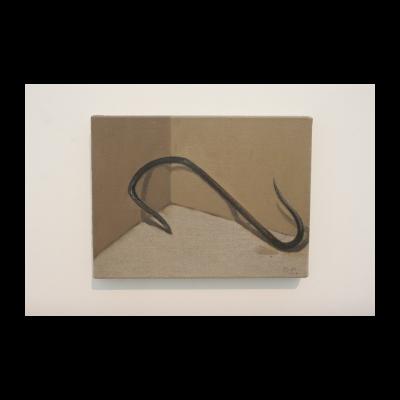 闫冰,角落里的铁钩,2014