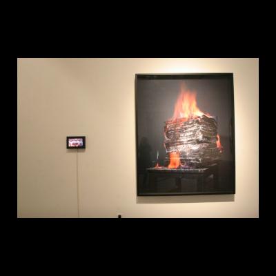 """(右)陈晓云 特殊知识保护协会一个基于""""语言""""的假设:燃烧是光的消极形式"""